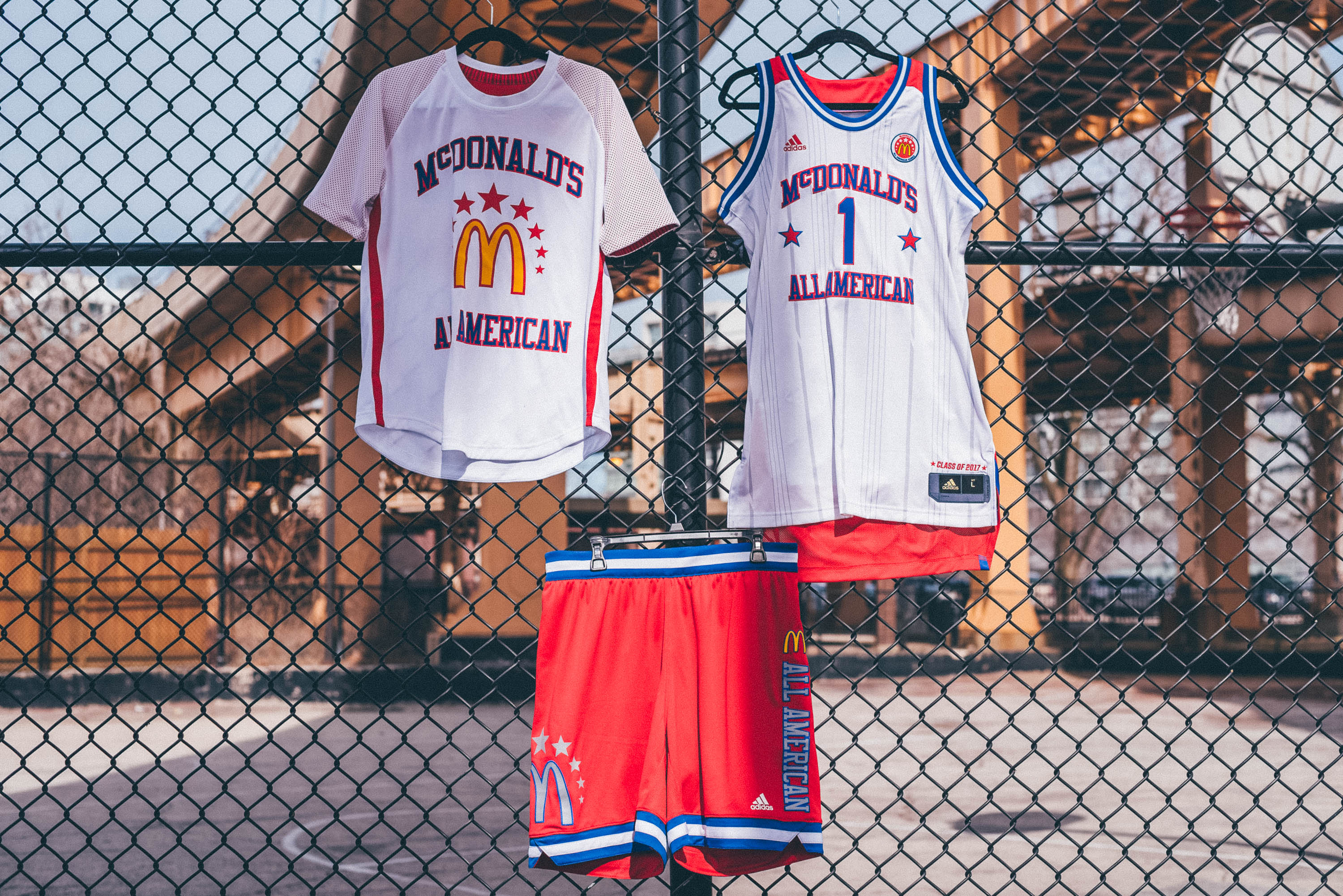 Adidas unveils official jerseys for the 2017 McDonald s All American Games   56c101ab0