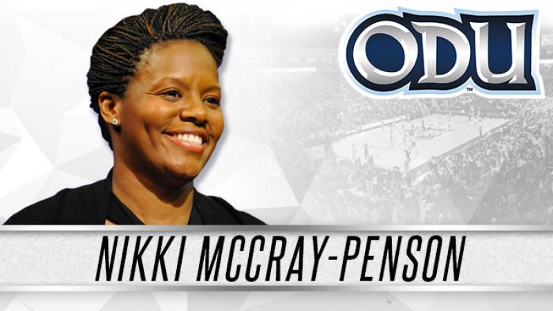South Carolina assistant Nikki McCray-Penson named head coach of Old Dominion