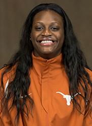 Joyner Holmes. Photo: Texas Athletics.