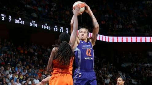 WNBA Playoffs: Phoenix Mercury and Washington Mystics prevail in second round, advance to semifinals