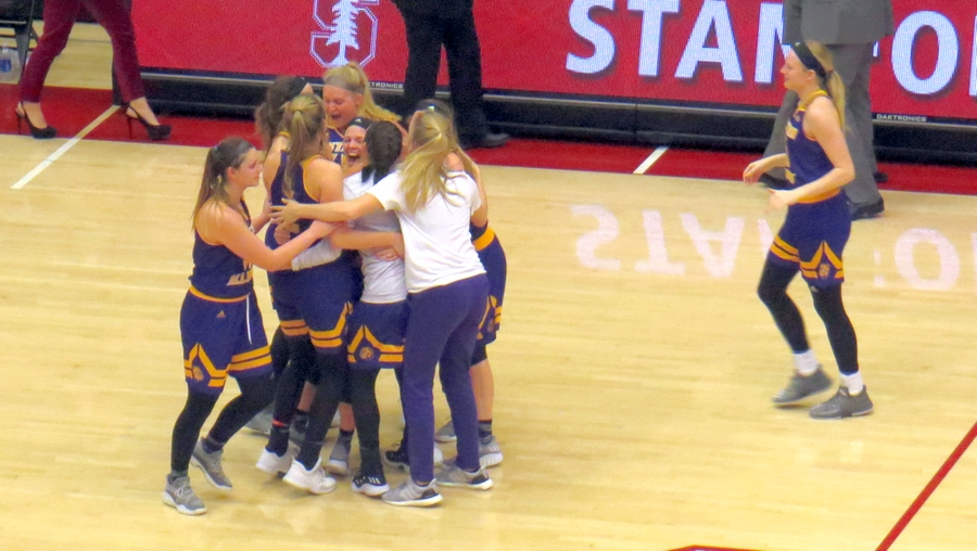 Emily Clemens has a banner night, leads Western Illinois over No. 18 Stanford, 71-64, first-ever win over a ranked team for WIU