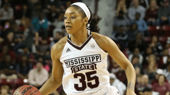 Mississippi State's Victoria Vivians. Photo: Mississippi State Athletics.