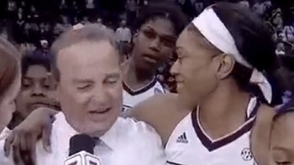 When it comes to Mississippi State's Teaira McCowan you can count on two things: rebounding and videobombs