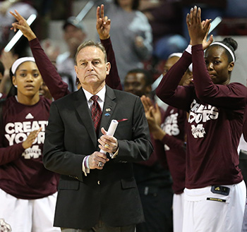 Mississippi State's Vic Schaefer named 2018 United States Marine Corps/WBCA NCAA Division I National Coach Of The Year