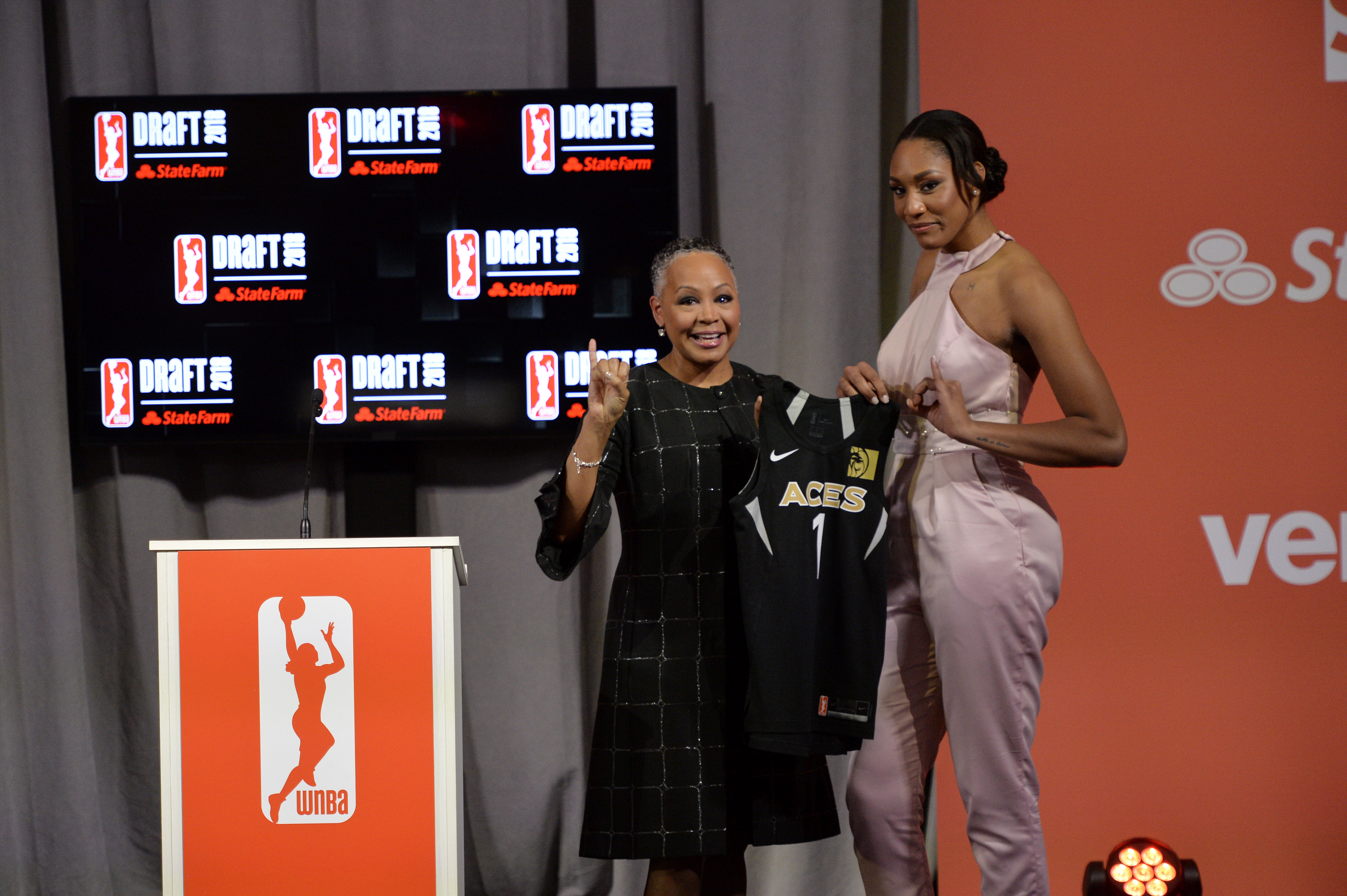 After a stellar college career, A'ja Wilson is first pick in 2018 WNBA Draft, already thinking about ways to improve her game