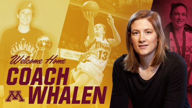 University of Minnesota hires Lindsay Whalen as head coach