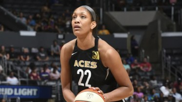 A'ja Wilson. Photo: NBAE/Getty Images.