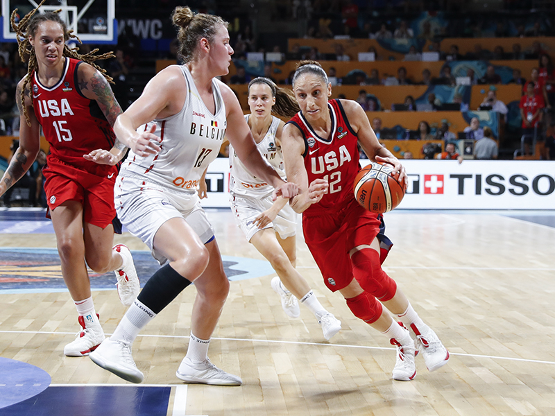 """USA to face Australia in World Cup gold medal game after beating Belgium, 93-77: """"We are right on that doorstep, knocking"""""""
