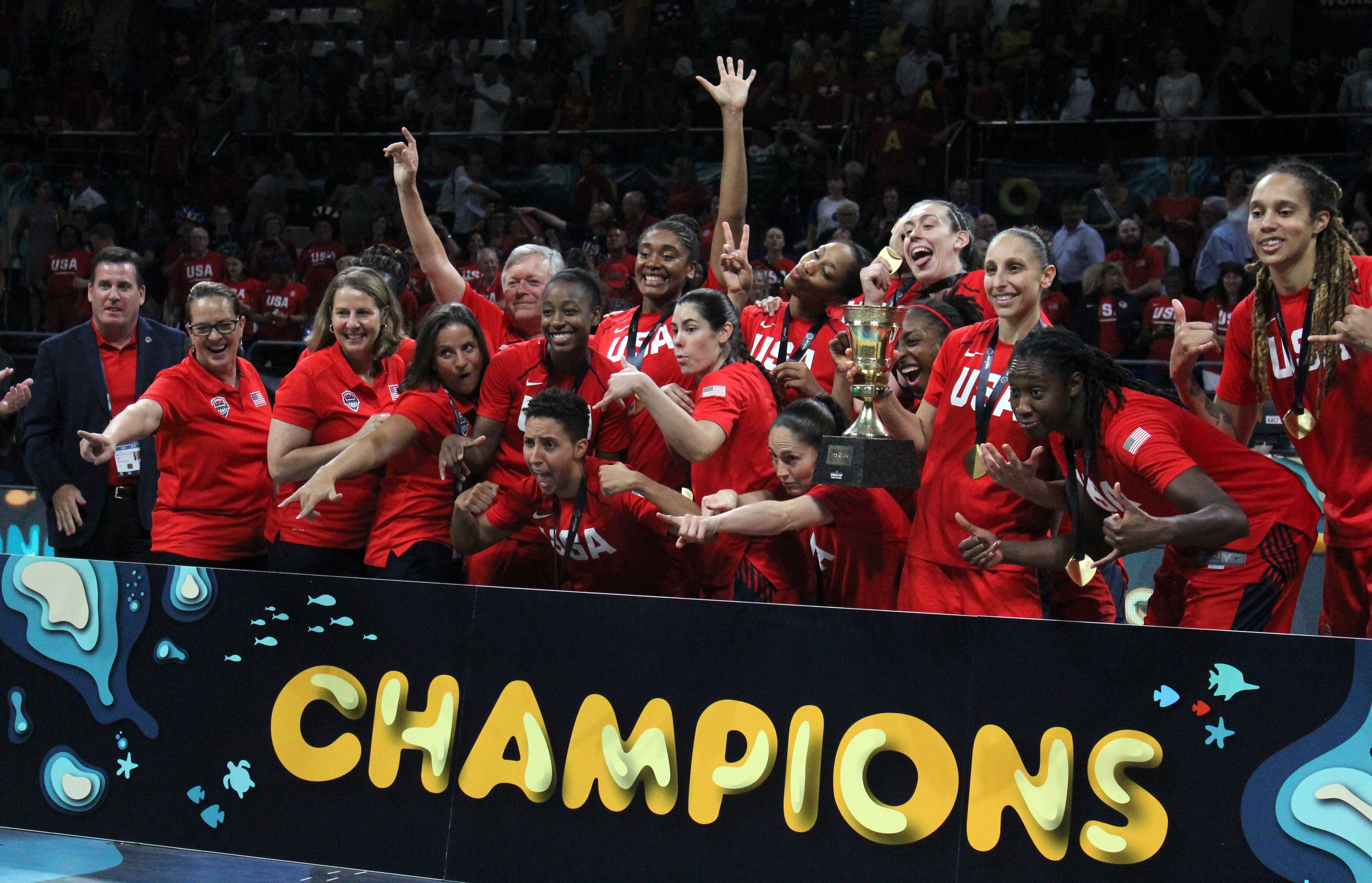USA earns third-straight FIBA World Cup gold with 73-56 victory over Australia