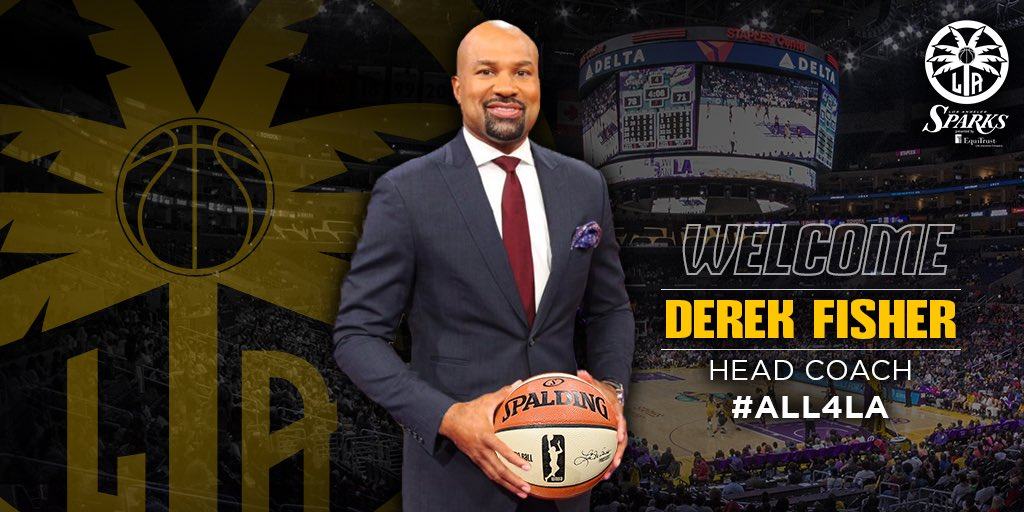 Derek Fisher named head coach of Los Angeles Sparks