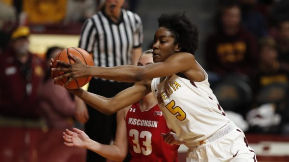 Taiye Bello. Photo: Gopher Athletics.