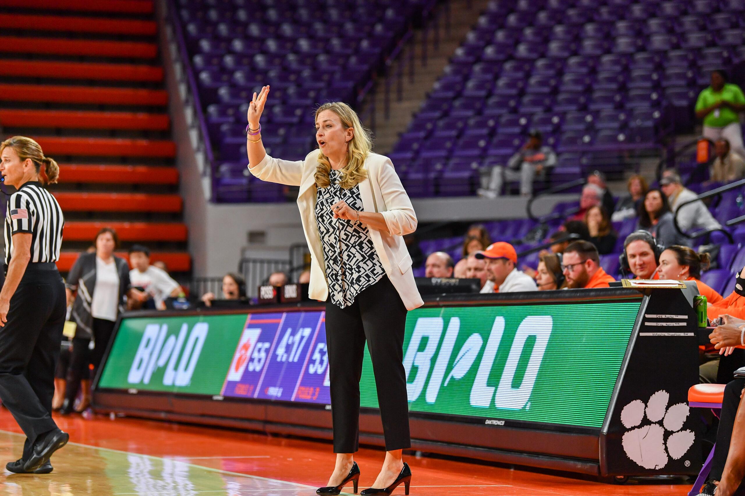 Clemson's Amanda Butler named 2019 ACC Coach of the Year