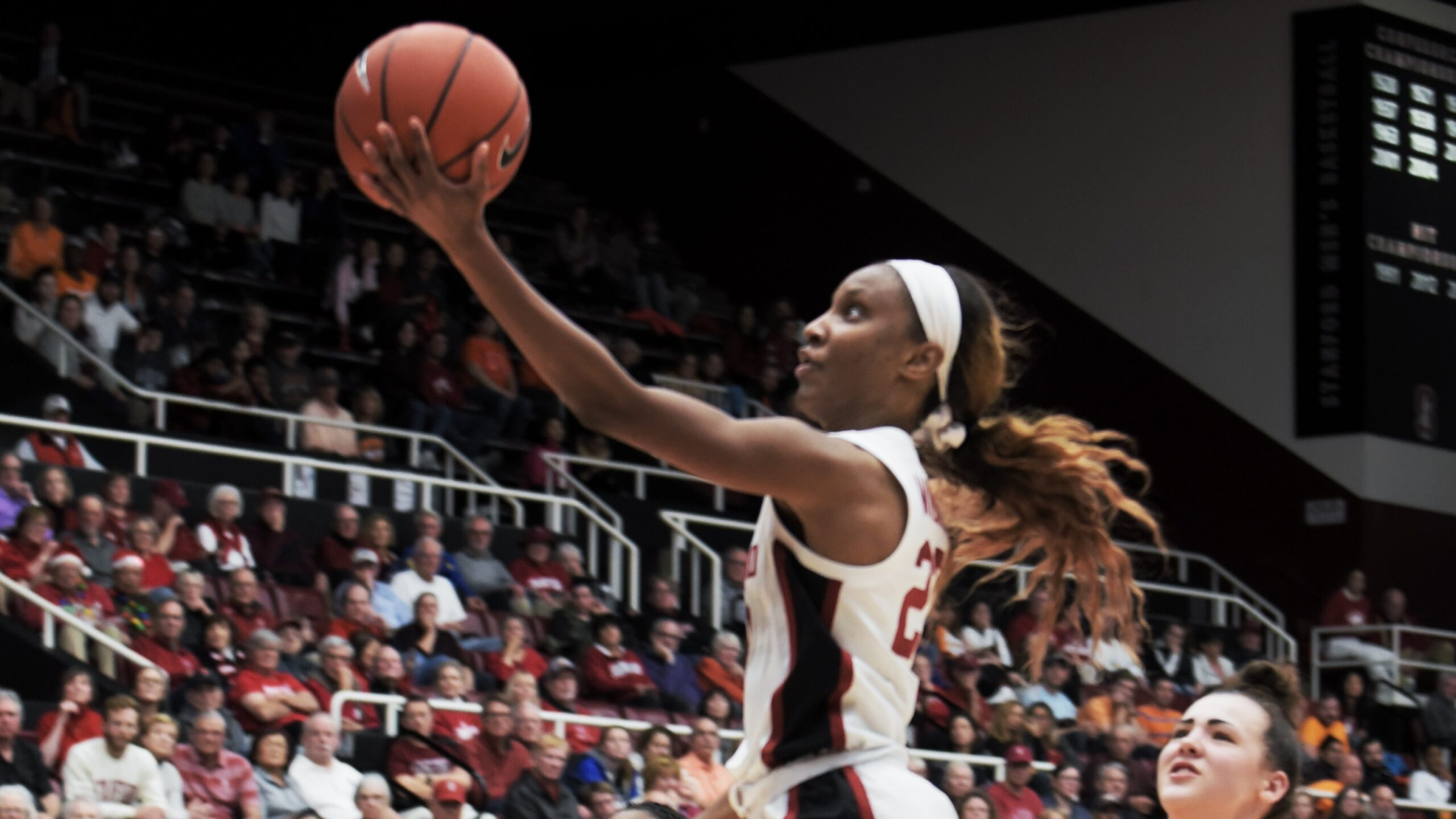 """Kiana Williams reaches career milestone and Stanford's """"tag-team play"""" takes down Tennessee, 78-51"""