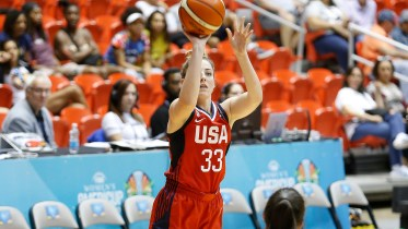 Katie Lou Samuelson. Photo: USA Basketball.