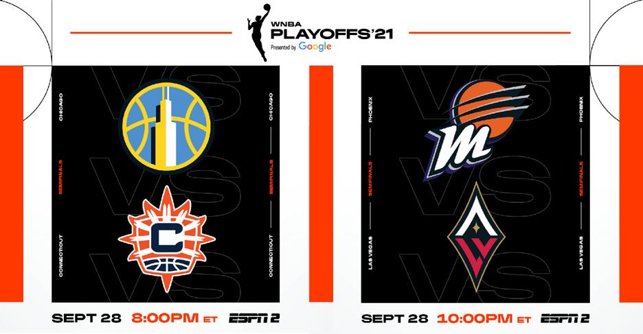 WNBA Playoffs: Semifinals on Tap