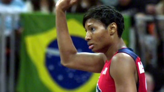 The Atlanta Dream suspends Angel McCoughtry indefinitely