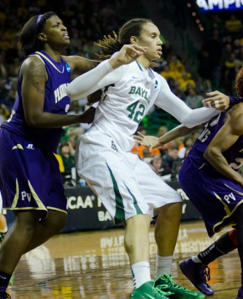 WACO, Texas (March 24, 2013) - Baylor's Brittney Griner. Photo: Robert Franklin, all rights reserved.