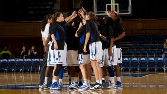 No. 3 Duke opens their season against Presbyterian, Saturday, Nov. 17. Photo: Duke Photography.