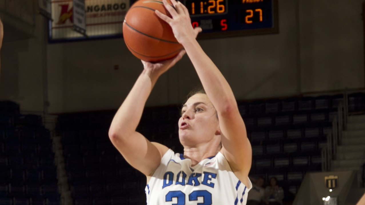 """Dishin & Swishin 2/21/13 Podcast: Looking at the """"Student"""" part of """"Student-Athlete"""" with UConn's Heather Buck & Duke's Haley Peters"""