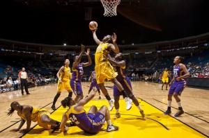 Glory Johnson. Photo: Shane Bevel/NBAE via Getty Images.