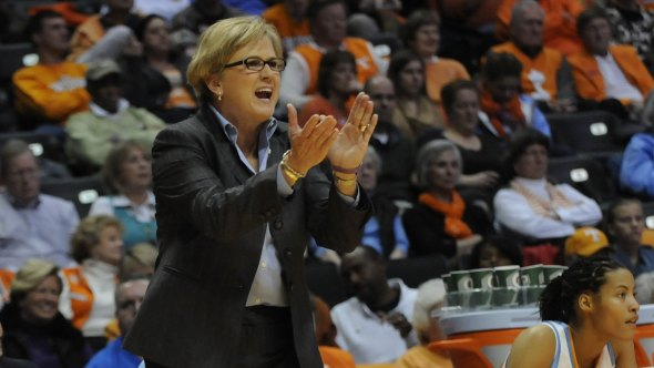 Holly Warlick. Photo: William Ewart/Tennessee Athletics.