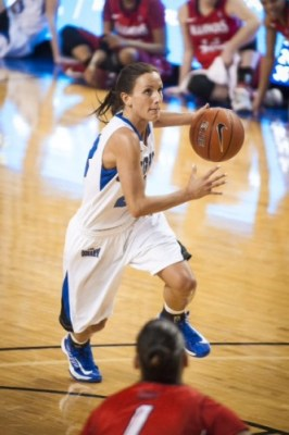 Marissa Janning, Creighton. Photo: Creighton Athletics.