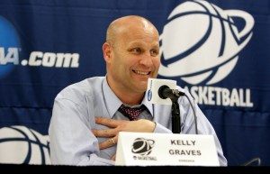 Gonzaga coach Kelly Graves. Photo: Torrey Vail/GU Athletics.