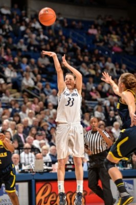 Maggie Lucas. Photo by Mark Selders/Penn State Athletic Communications.
