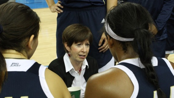 Notre Dame head coach Muffet McGraw. Photo: John Dlugolecki