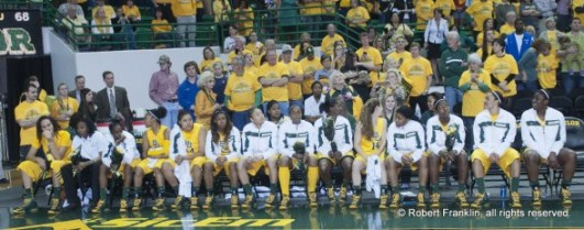 WACO, Texas (March 4, 2013) - Brittney Griner scored a Big 12 single-game record 50 points in her final regular-season game at Baylor to lead the top-ranked Lady Bears to a 90-68 victory over Kansas State.