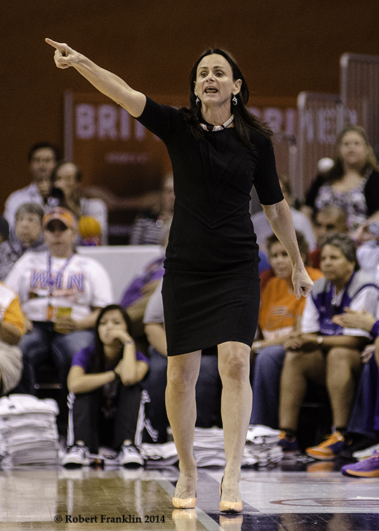 PHOENIX, Ariz. (Sept. 9, 2014) - Game two of the 2014 WNBA Finals. Photo: @ Robert Franklin, all rights reserved.