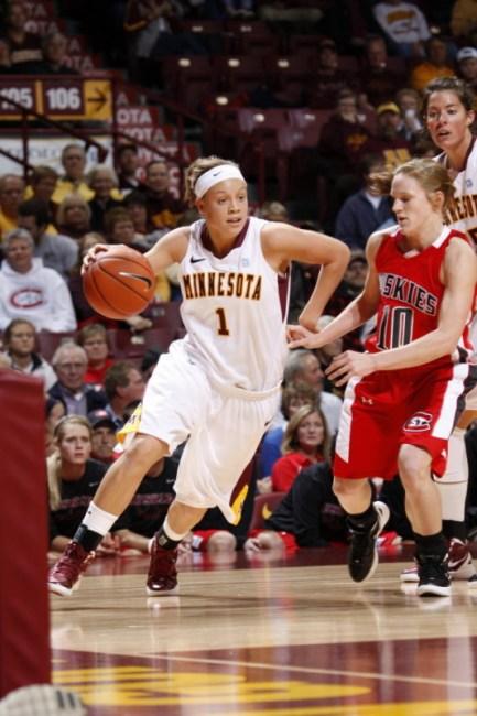 Rachel Banham. Photo: Minnesota Athletics.