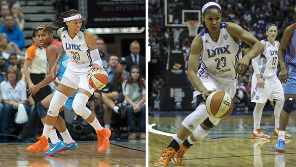 Dishin & Swishin 10/10/13 Podcast: On the verge of a second WNBA title, we revisit chats with Lynx stars Seimone Augustus and Maya Moore