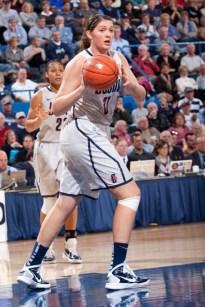 Stefanie Dolson. Photo: UConn Athletics.