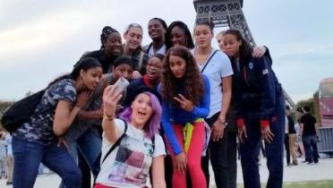 September 2014, Stefanie Dolson, Paris