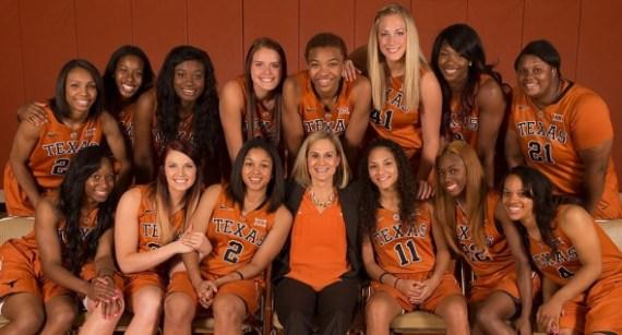The 2014-15 Texas squad. Photo: Texas Athletics.