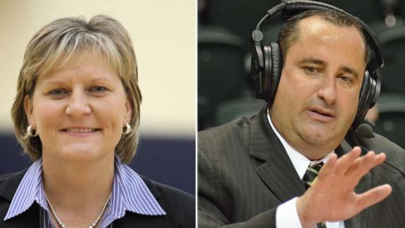 Toledo's Tricia Cullop and USF's Jose Fernandez. Photos: Toledo Athletics and USF Athletics.