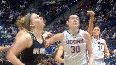 December 5, 2013 (HARTFORD, Conn.) - UConn defeats UC Davis 97-37 at the XL Center.