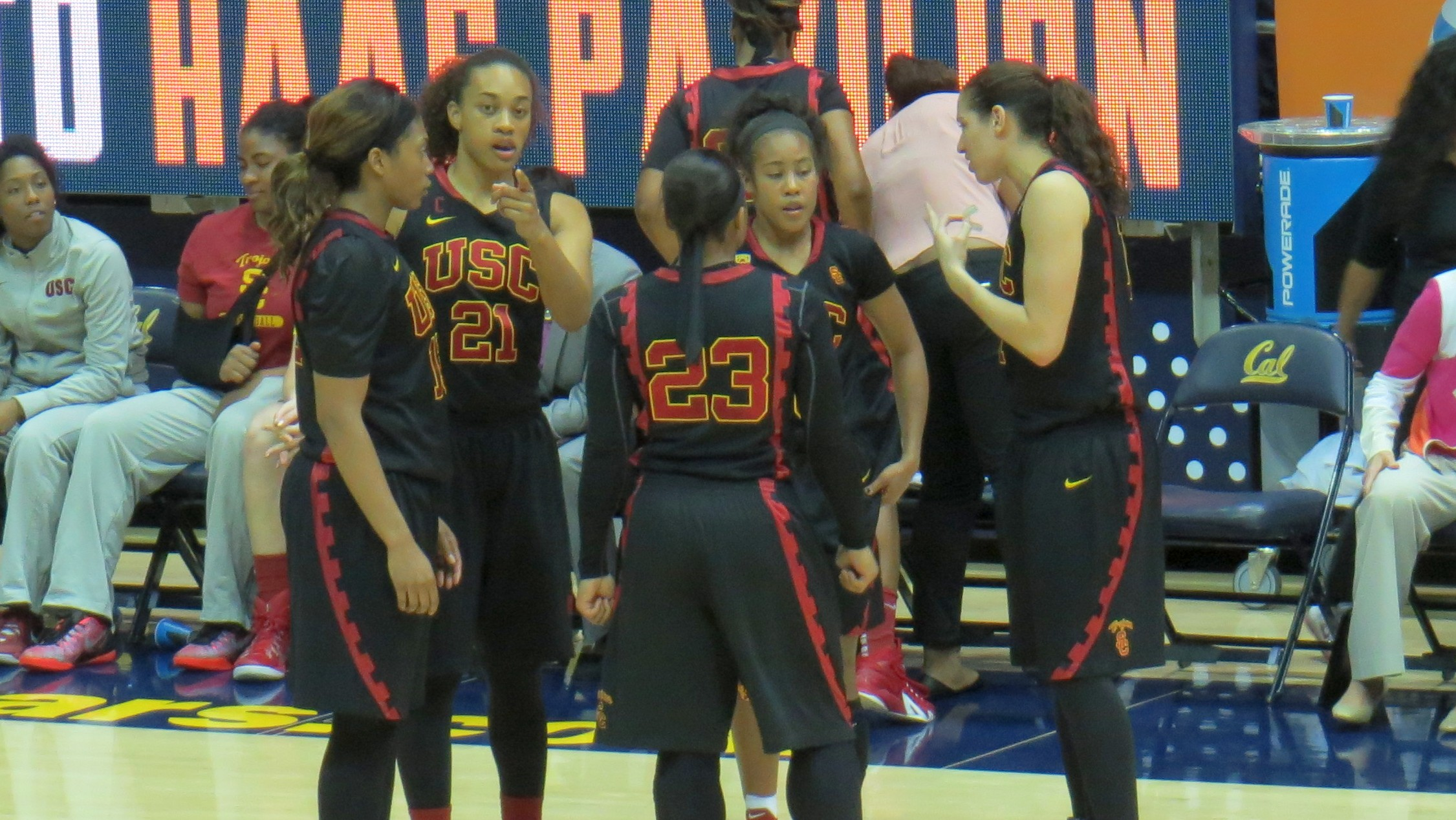Alexis Lloyd comes off the bench to spark USC in road win over Cal, 65-54