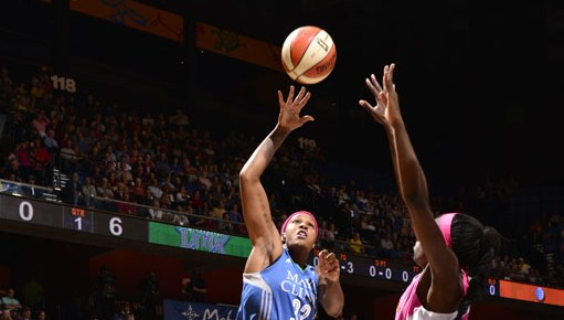 Moore, Whalen and Augustus are the Olympians, but Rebekkah Brunson is the foundation of Lynx success
