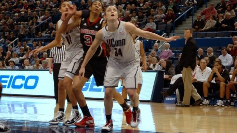 UConn's Kelly Faris. Photo: Roger Beaupre.