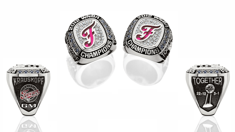 Indiana Fever to receive 2012 WNBA title rings in pre-game ceremony