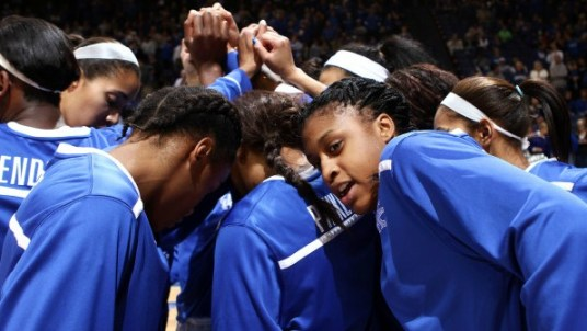 Kentucky beat Delaware in the 2013 NCAA DI Sweet 16. Photo: UK Athletics/Chet White
