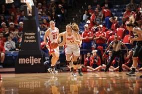 Ally Malott. Photo: Dayton Athletics.