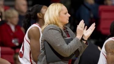 UMKC head coach Marsha Frese. Photo: UMKC Athletics/MSH Photography