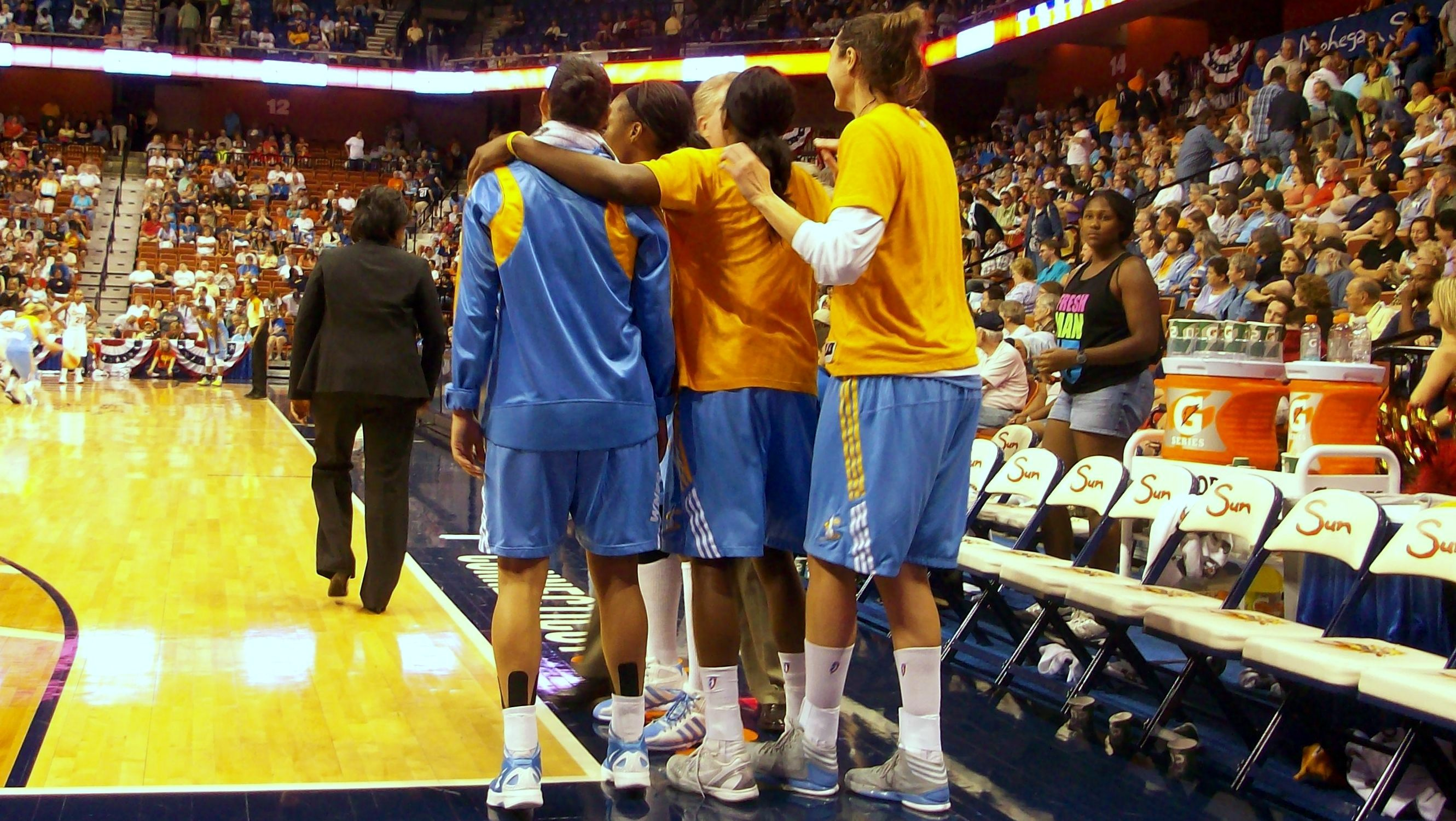 """After """"the streak"""" Chicago Sky aims for elusive first playoff berth behind mix of veterans and youth"""