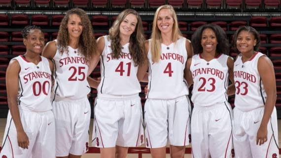 Stanford will honor their seniors Sunday: Jasmine Camp, Alex Green, Taylor Greenfield, Amber Orrange, Erica Payne, Bonnie Samuelson.