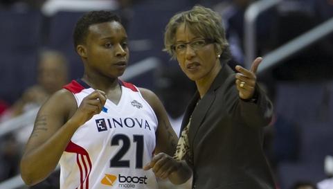 Washington Mystics fire coach Trudi Lacey