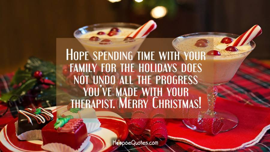 Hope Spending Time With Your Family For The Holidays Does Not Undo All The Progress Youve Made