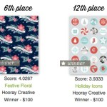 Holiday Gift Wrap Winners